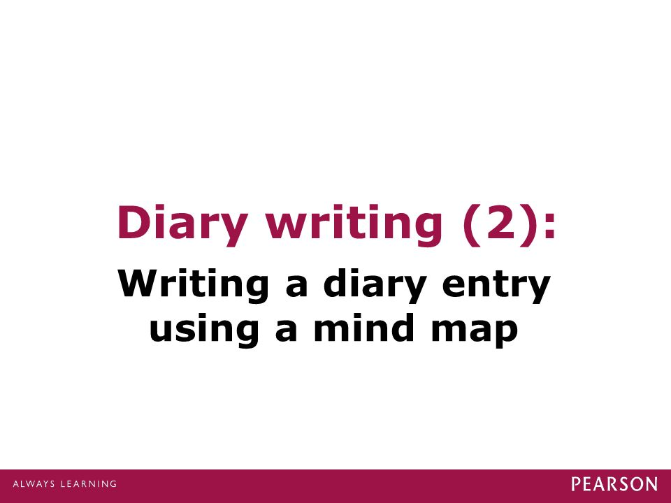 Writing historical diary entries based on real journals