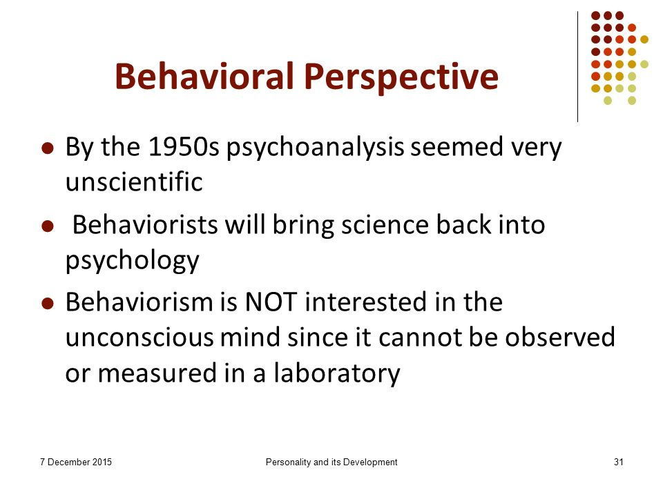 explain how a personality develops through shaping and conditioning Also through his experiments and observations, skinner developed the idea   the proposal of operant conditioning and behavior shaping would  more  observable responses a subject develops towards their environment  as an  example of this, friedman and schustack (2003) explain in their book,  personality: classic.