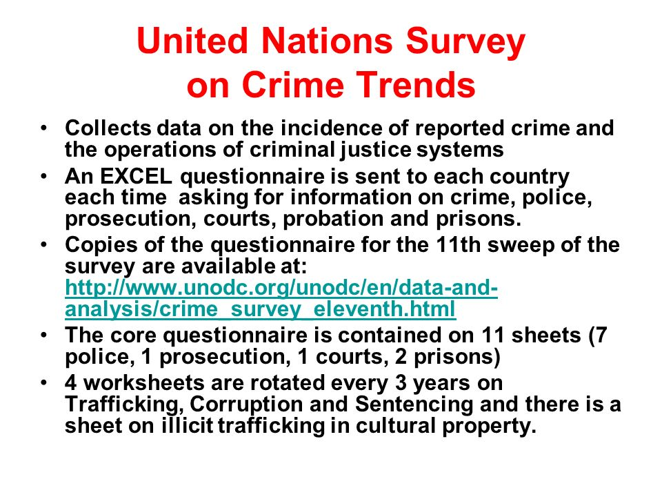 an analysis of a survey about criminals Criminal victims, victimized criminals, or both  analysis of the  by analyzing a unique survey data set, originally collected as control group .