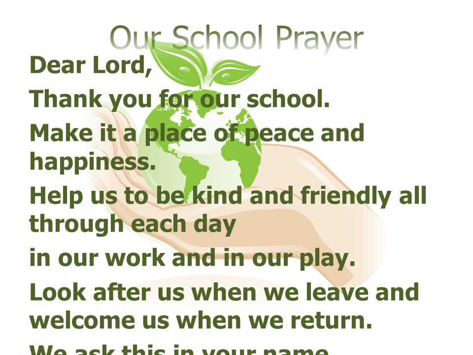 what are your perspectives on prayer in schools Your education primary schools in cairns  prayers and reflections  3 minute retreat daily online prayer read more praycom.