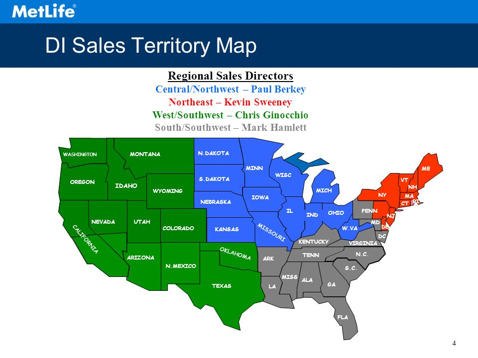 Sales territory mapping free
