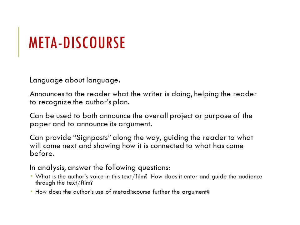 Buy discourse analysis paper