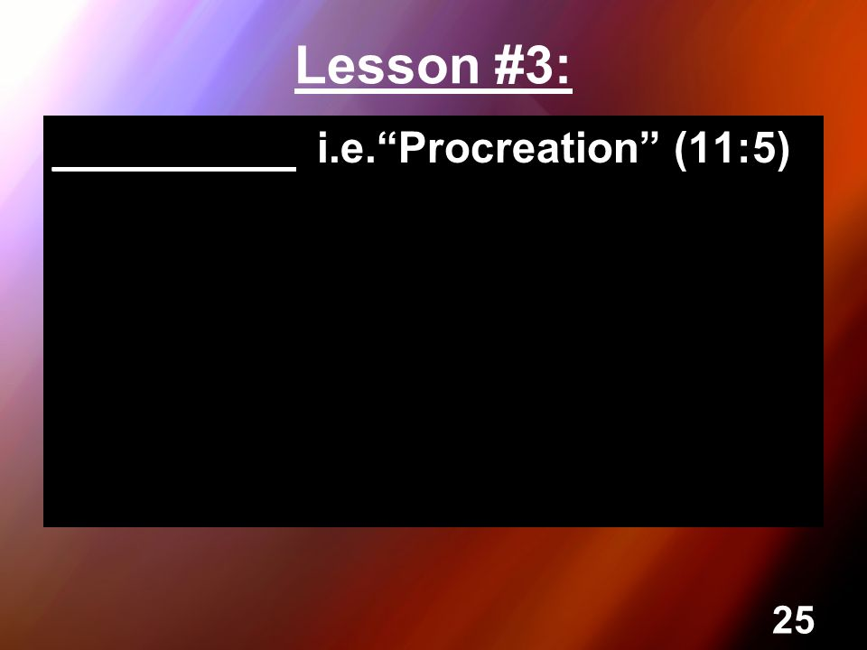 perfect procreation This free sociology essay on essay: procreation is perfect for sociology students to use as an example.