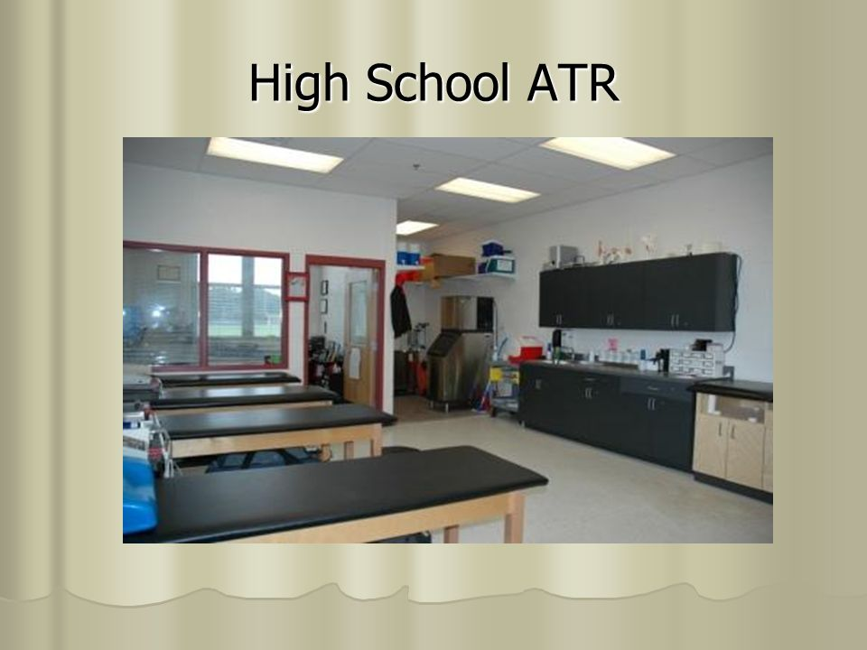 Designing An Athletic Training Room Atr Ppt Video