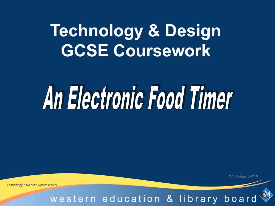 ccea gcse technology coursework