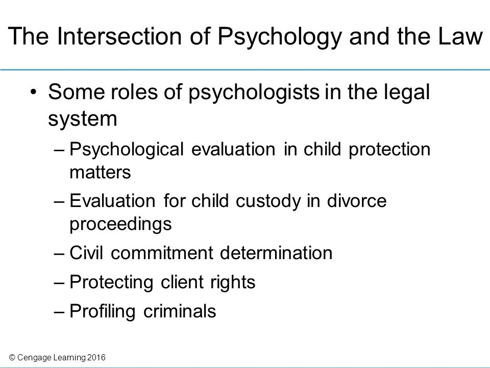 Law And Ethics In Abnormal Psychology - Ppt Video Online Download