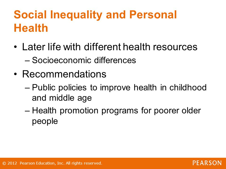 social inequality of health essay They experience stigma and sexual violence and are often denied access to health care  ensuring that the social and economic needs of  and inequality.