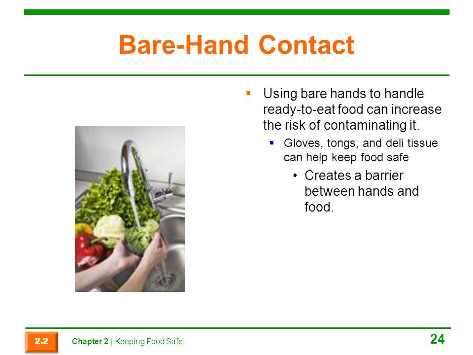 Food Safety Bare Hands ~ Prostart obj pt keeping food safe ppt download