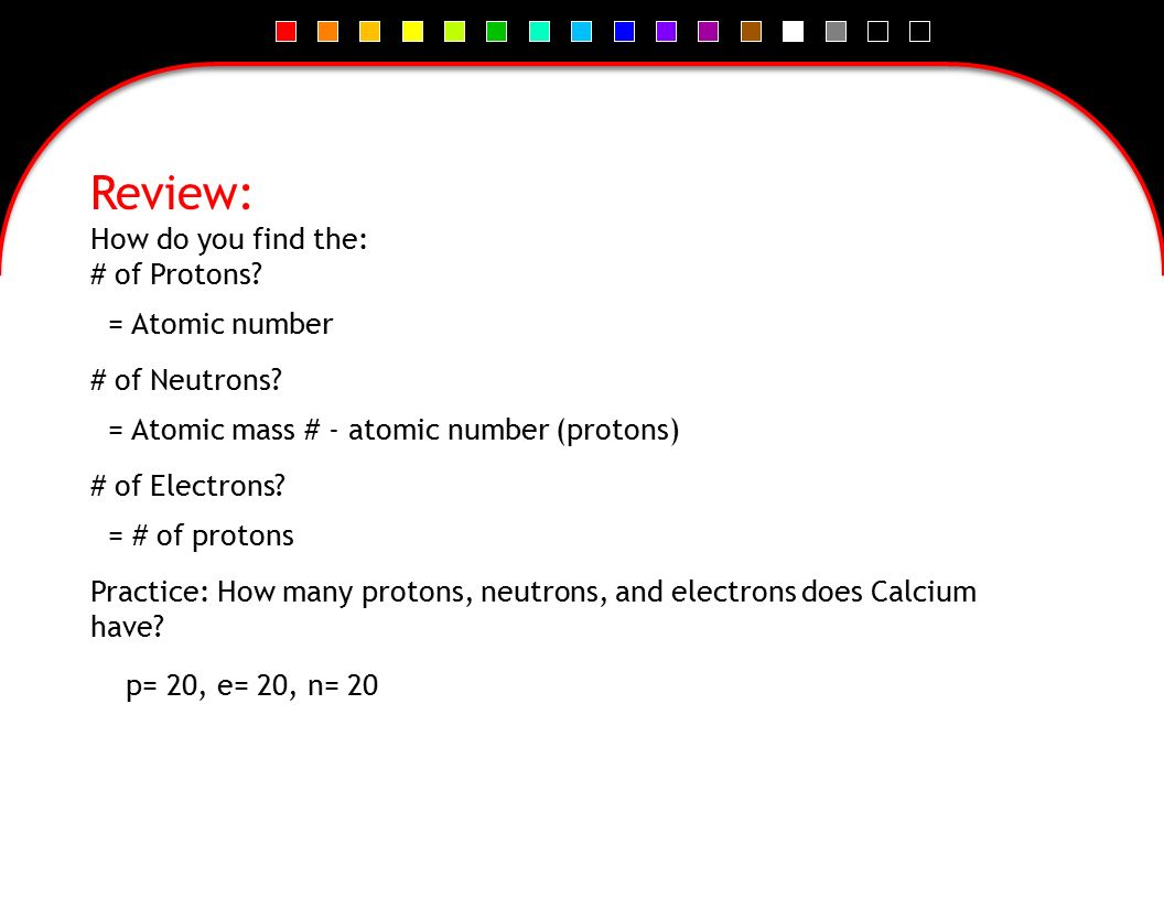 Chapter 19 chemical bonds ppt video online download review how do you find the of protons of neutrons buycottarizona Image collections