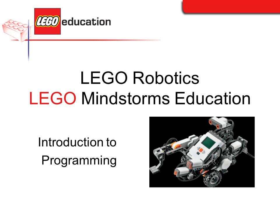 LEGO Robotics LEGO Mindstorms Education