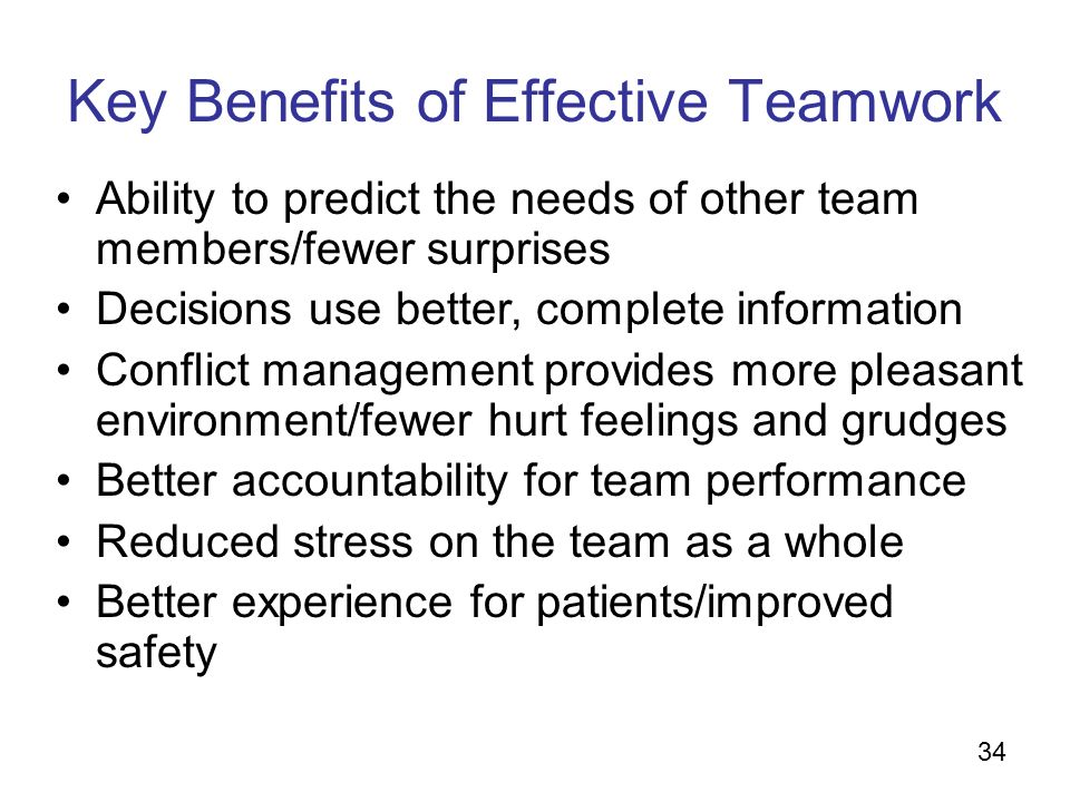 how to improve ablilty to work in a team environment