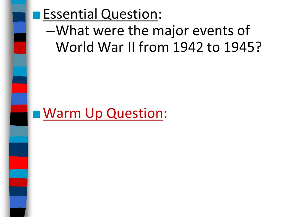 events leading up to world war 1 essay Brief timeline of events leading up to world war one essays: over 180,000 brief timeline of events leading up to world war one essays, brief timeline of events.