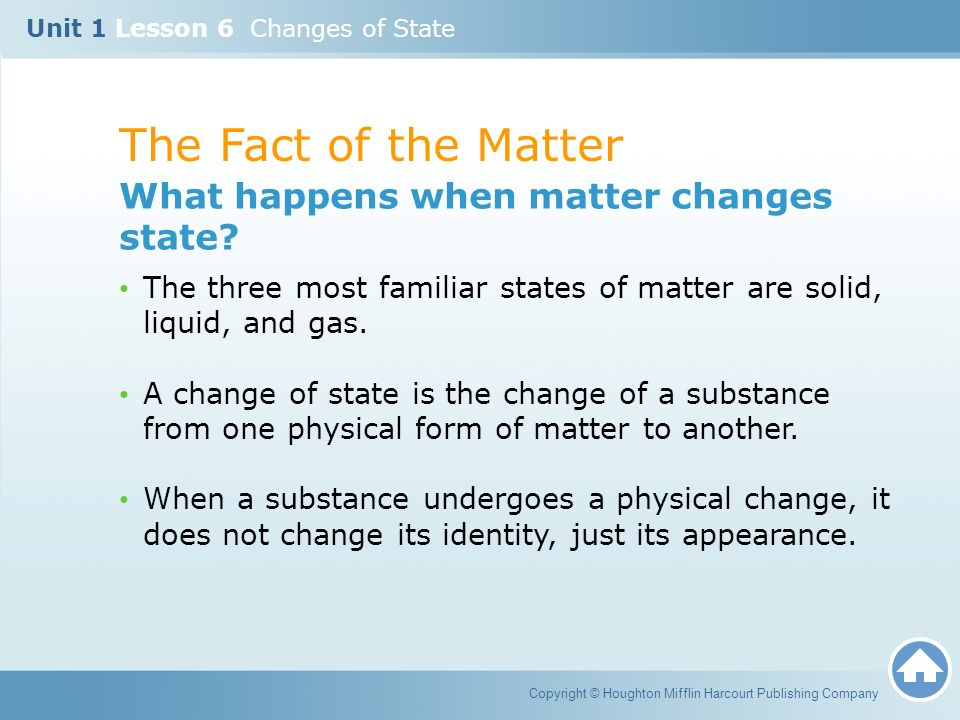 States Of Matter Liquid Facts