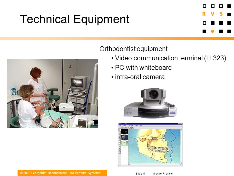 Technical Equipment Orthodontist equipment