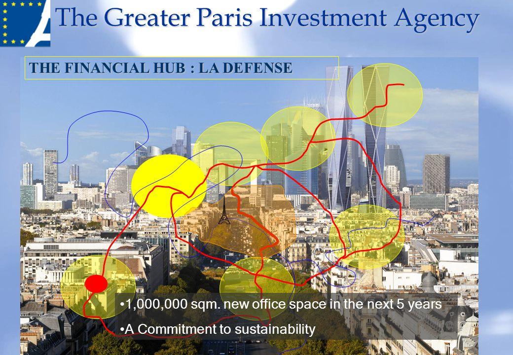 THE FINANCIAL HUB : LA DEFENSE