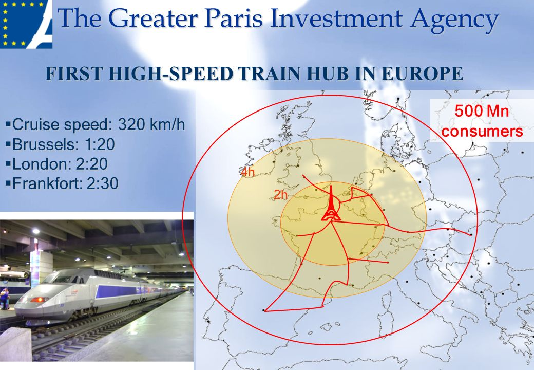 FIRST HIGH-SPEED TRAIN HUB IN EUROPE