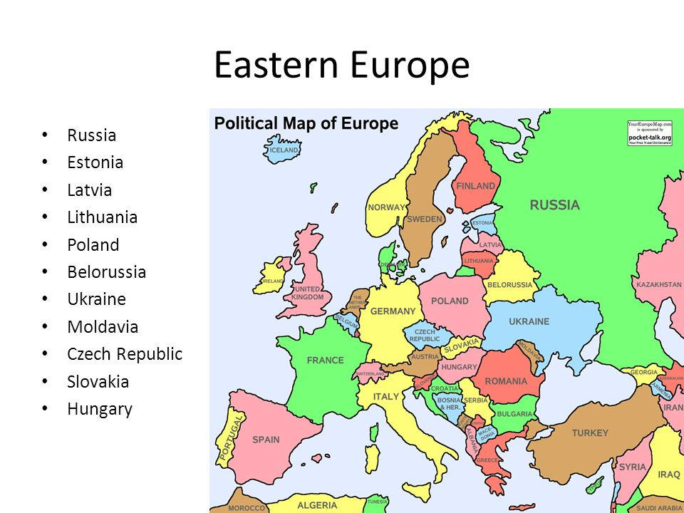 Map Region 3 Europe ppt download
