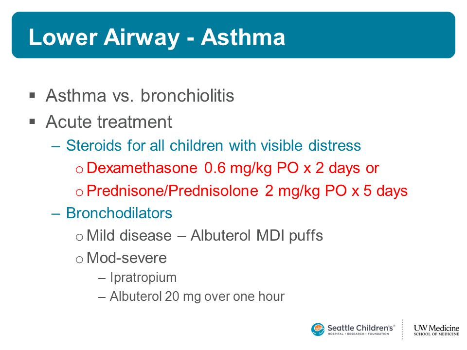 asthma steroids toddlers