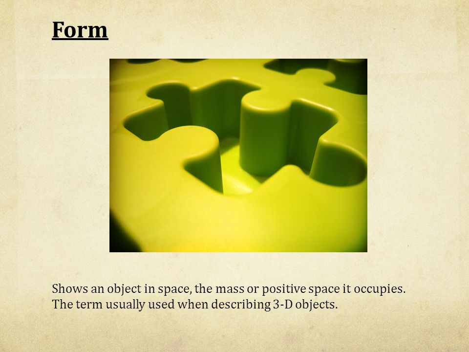 Form Art Term : The elements and principles of art design ppt video online download
