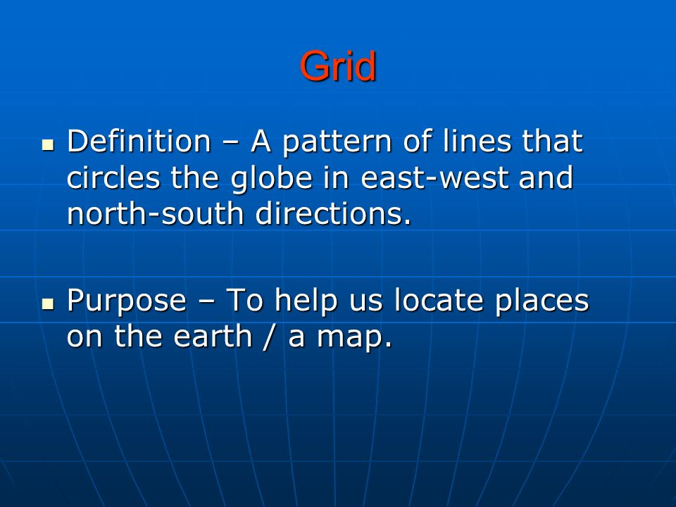 Map And Globe Terms Ppt Download - How the globe and maps help us