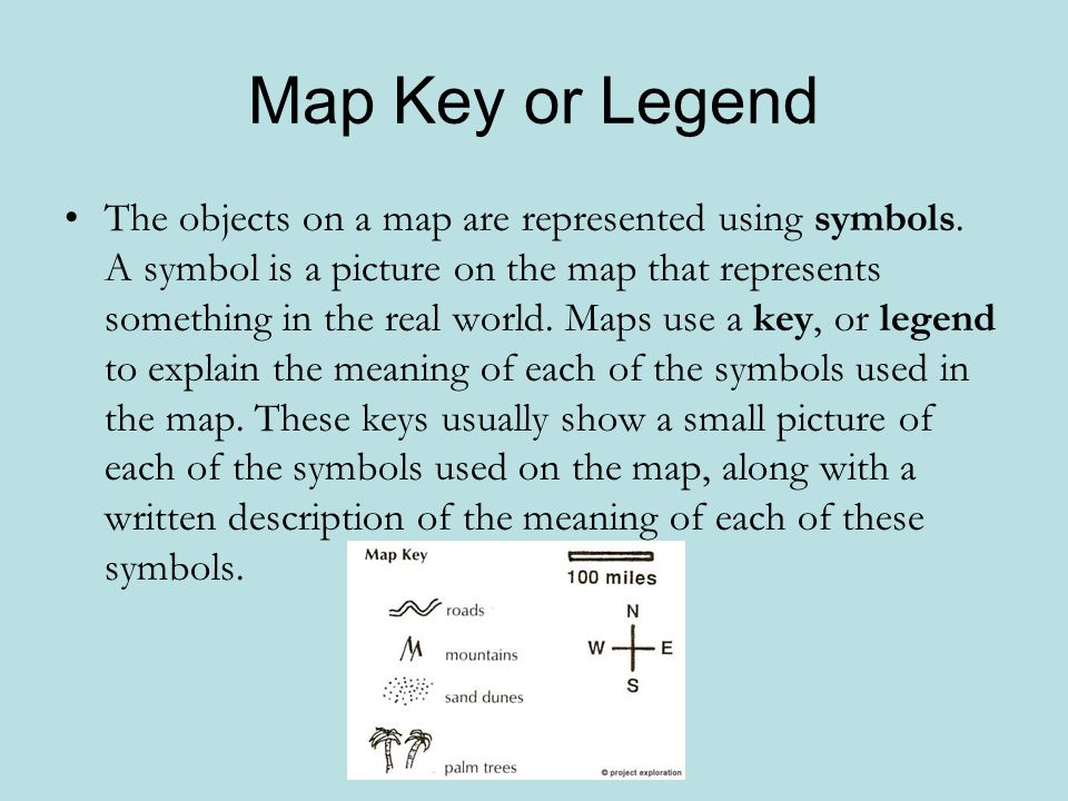 Parts of a Map ppt download