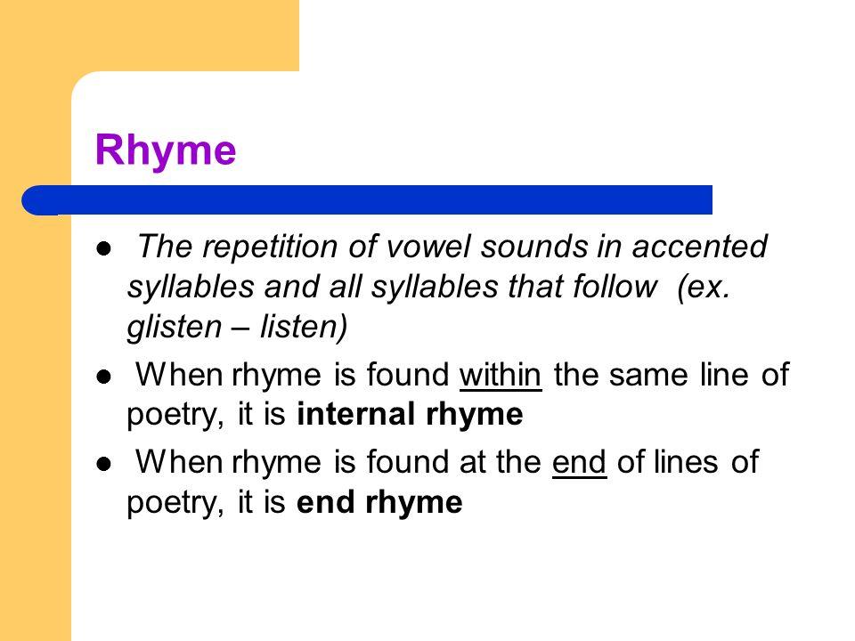 Understanding Poetic Structure - ppt download
