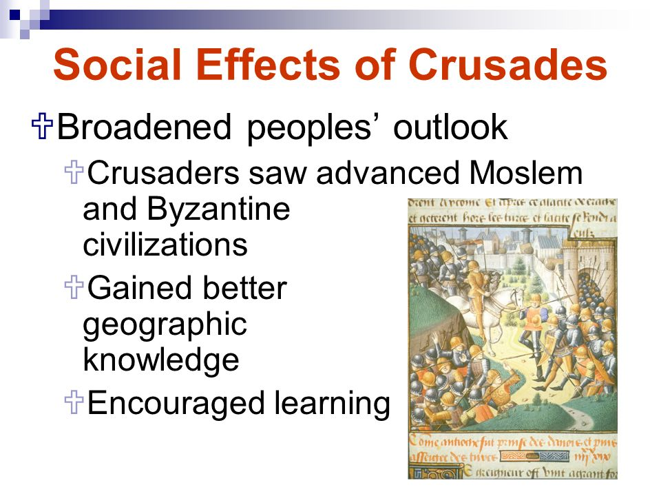 postive effects of medieval social classes Effects such as the conflicts that result in war and bloodshed, the separation of social classes, and the corruption throughout the church, especially the recent sex scandal in the catholic church.