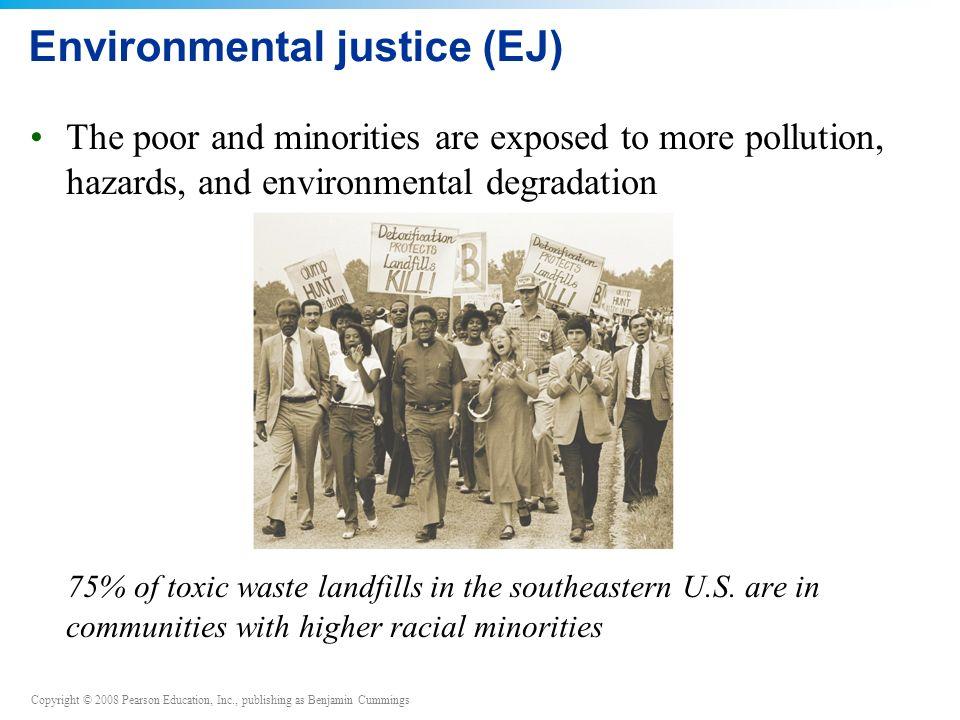 Environmental justice (EJ)