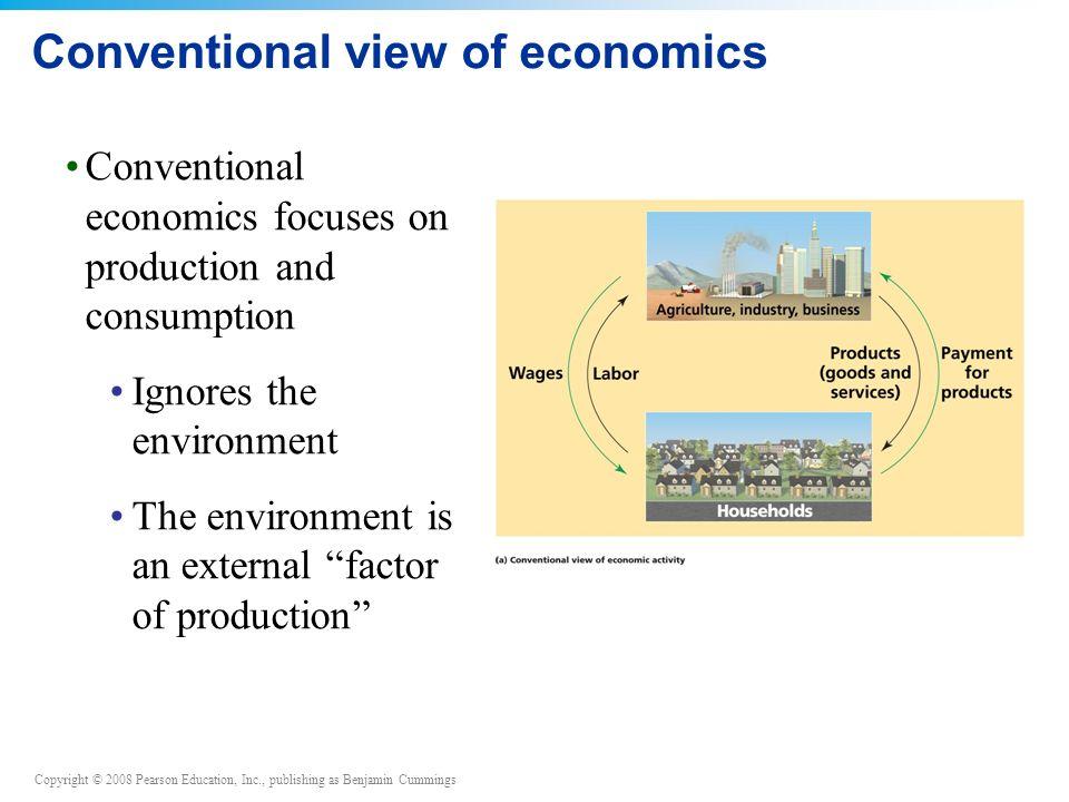Conventional view of economics