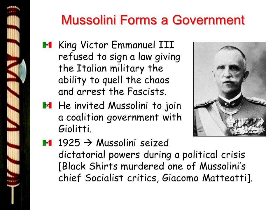 Italian Fascism. - ppt download