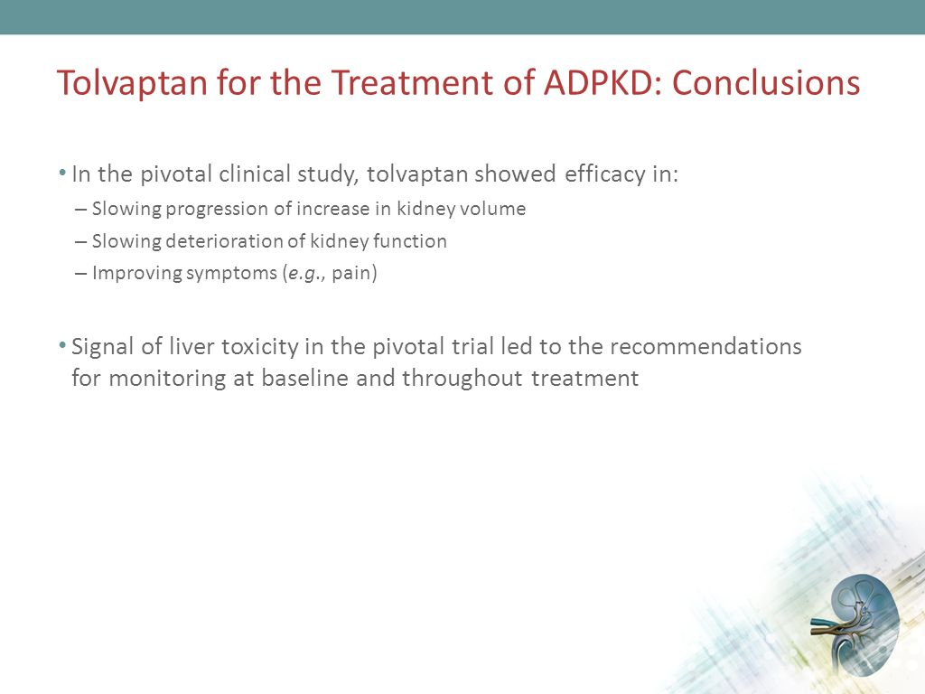 Tolvaptan Phase 3 Efficacy and Safety Study in Autosomal ...