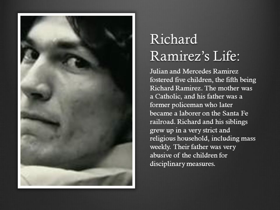 """""""The Night Stalker"""" – By: Jeremy Bieman - ppt download What Happened To Richard Ramirez Cousin Mike"""