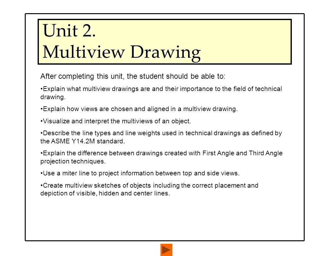 Unit 2 multiview drawing ppt download unit 2 multiview drawing biocorpaavc Gallery