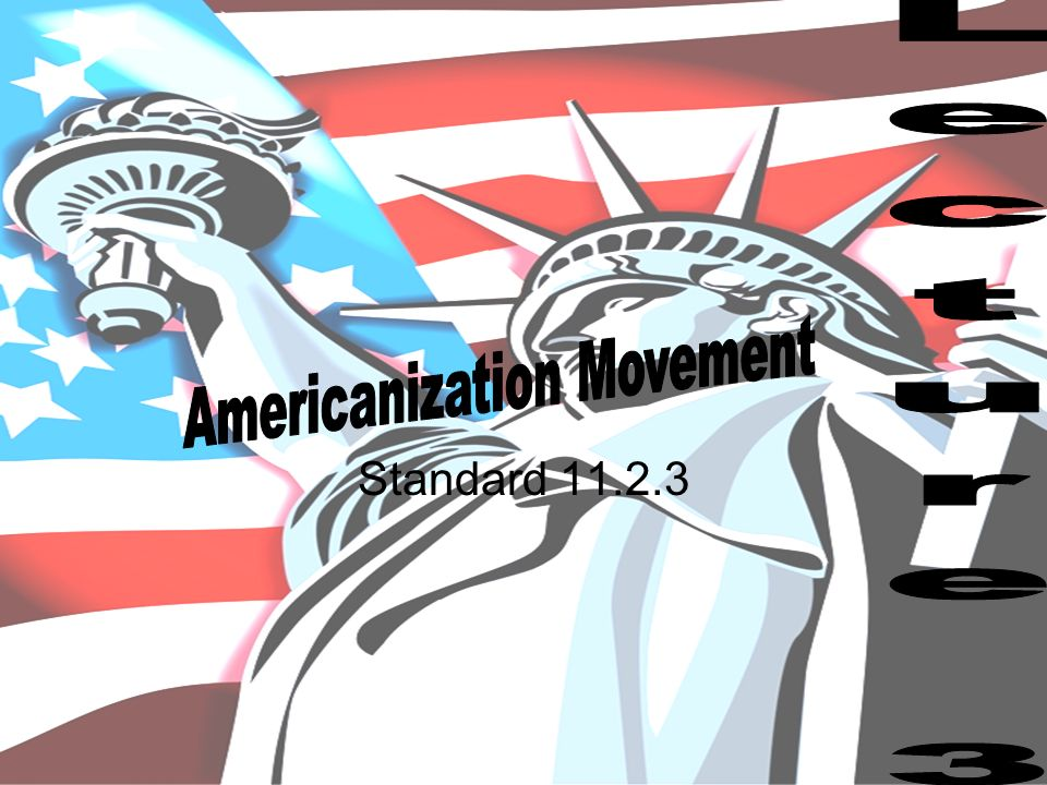 americanization movement