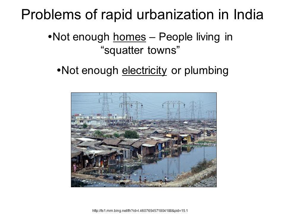 urbanization problems 2010-1-18 how is rapid urbanization affecting cities across the globe.