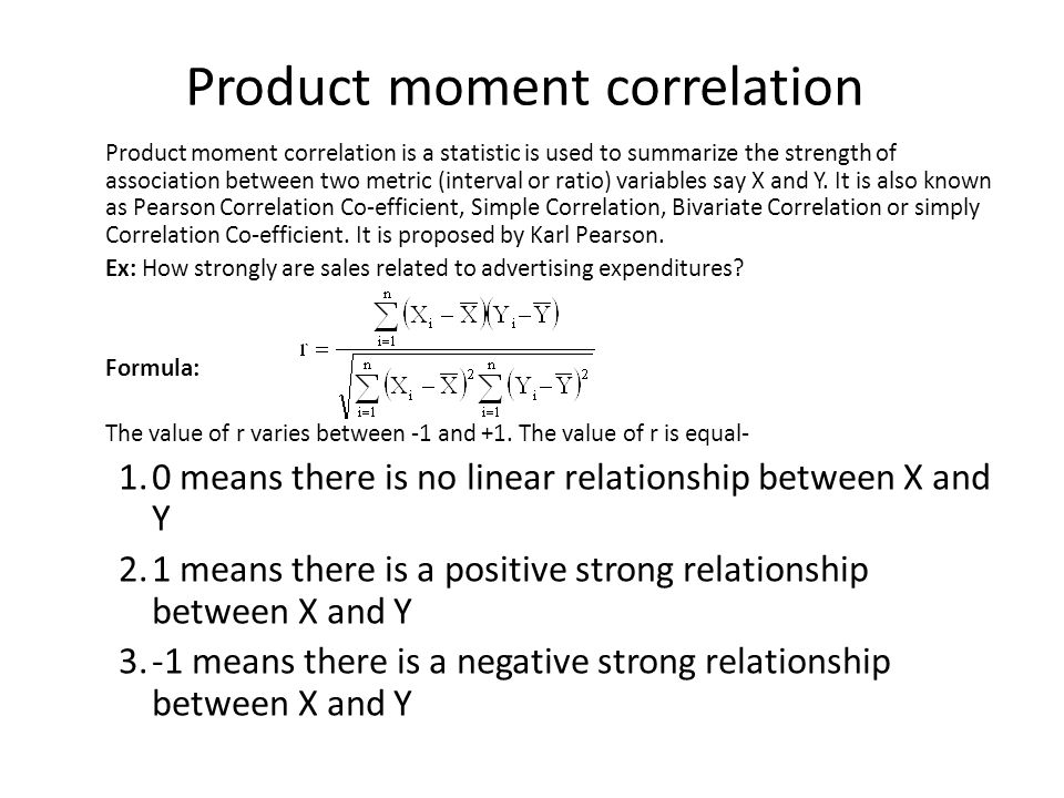 relationship between second moment and variance