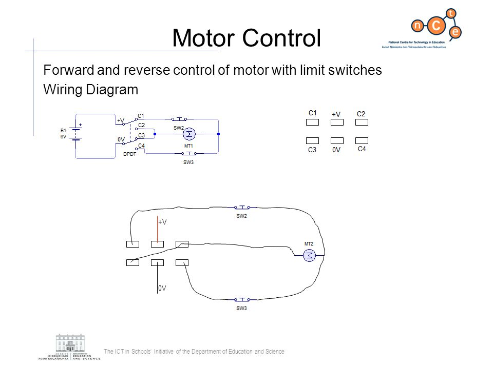 Reverse A Motor To Dpdt Switch Wiring Diagram SPDT Switch