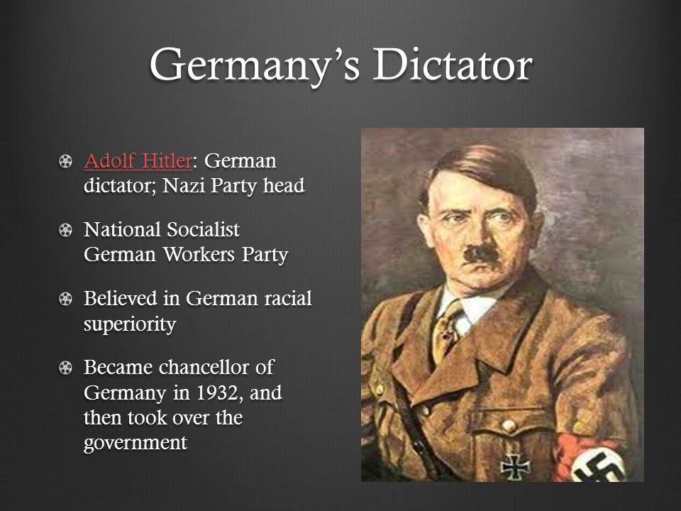 a look at the two famous dictators adolf hitler and joseph stalin During the period leading up to world war ii, there were two men  adolf hitler a psychological look at what he  the world war ii era were joseph stalin,.