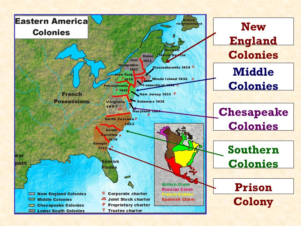 New England and the Chesapeake Region Before 1700