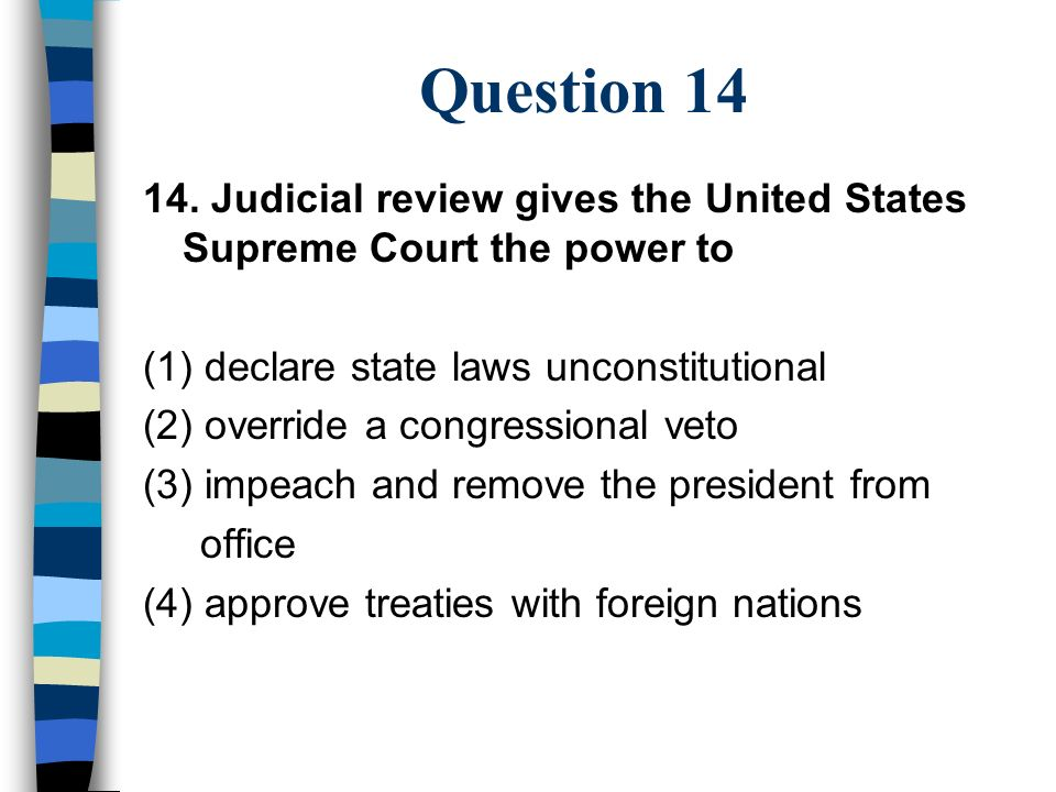the power of judicial review of the supreme court in the united states This historic decision – the equivalent of the united states's famous marbury v  madison – put basic laws on the top and established the practice of judicial.