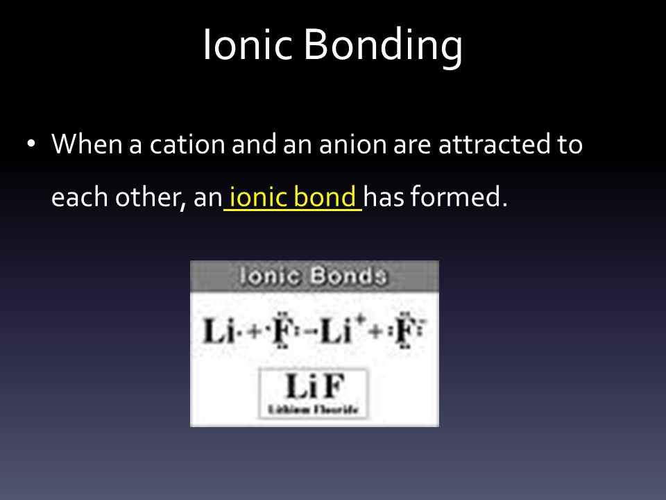 discuss the formation of ionic bonds Ionic bonds are strong bonds formed when oppositely charged ions are attracted  to each other • ionic bonds are non-directional (ions may be attracted to one.