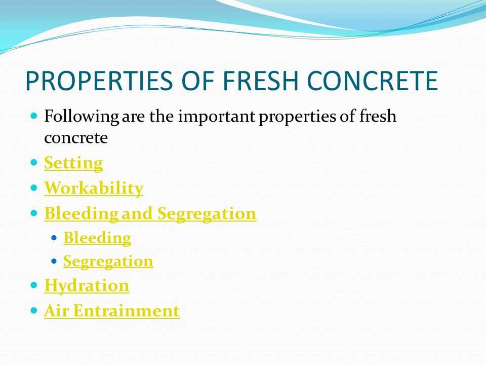 Properties Of Concrete : Unit ii concrete ppt video online download