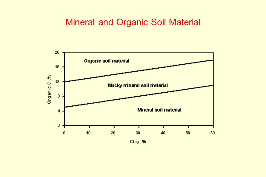 Soil classification ppt download for Mineral soil vs organic soil