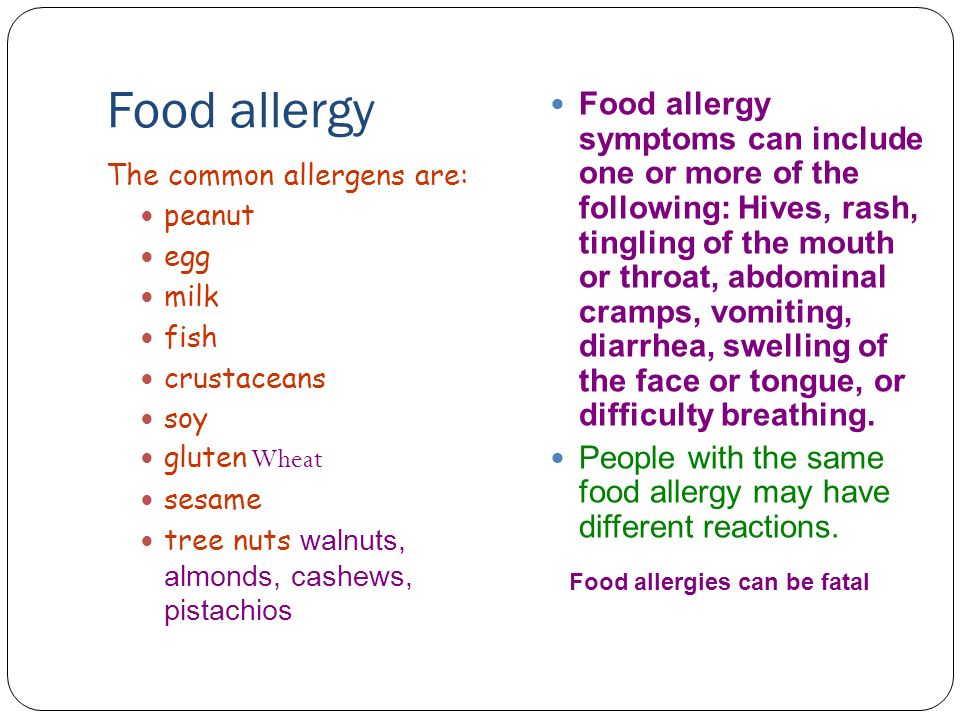 May be i am allergic to flowers ppt video online download for Fish allergy symptoms