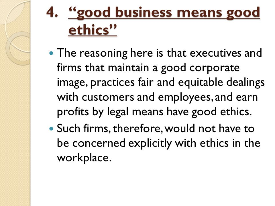 Business Ethics the changing environment and stakeholder ... Good Ethics