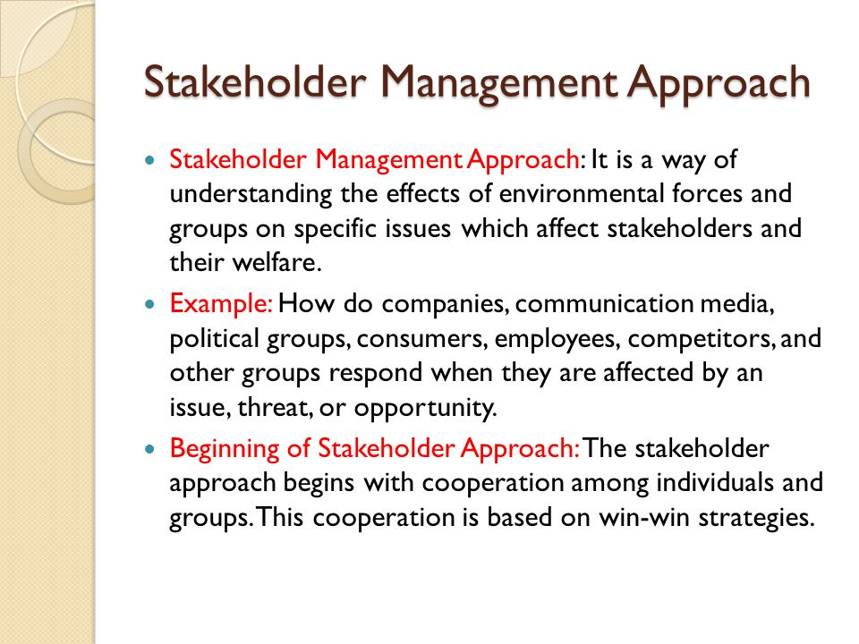 stakeholders and business ethics Understanding business ethics 2ndnd edition © 2014 sage publications, inc chapter 3 stakeholders and corporate social responsibility understanding business ethics.