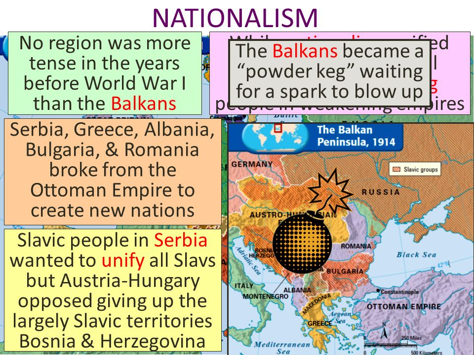 the contribution of nationalism in the balkans to the outbreak of wwi About world war i total war i: the  by john bourne the first world war was truly 'the great war  without the russian contribution in the east it is far from.