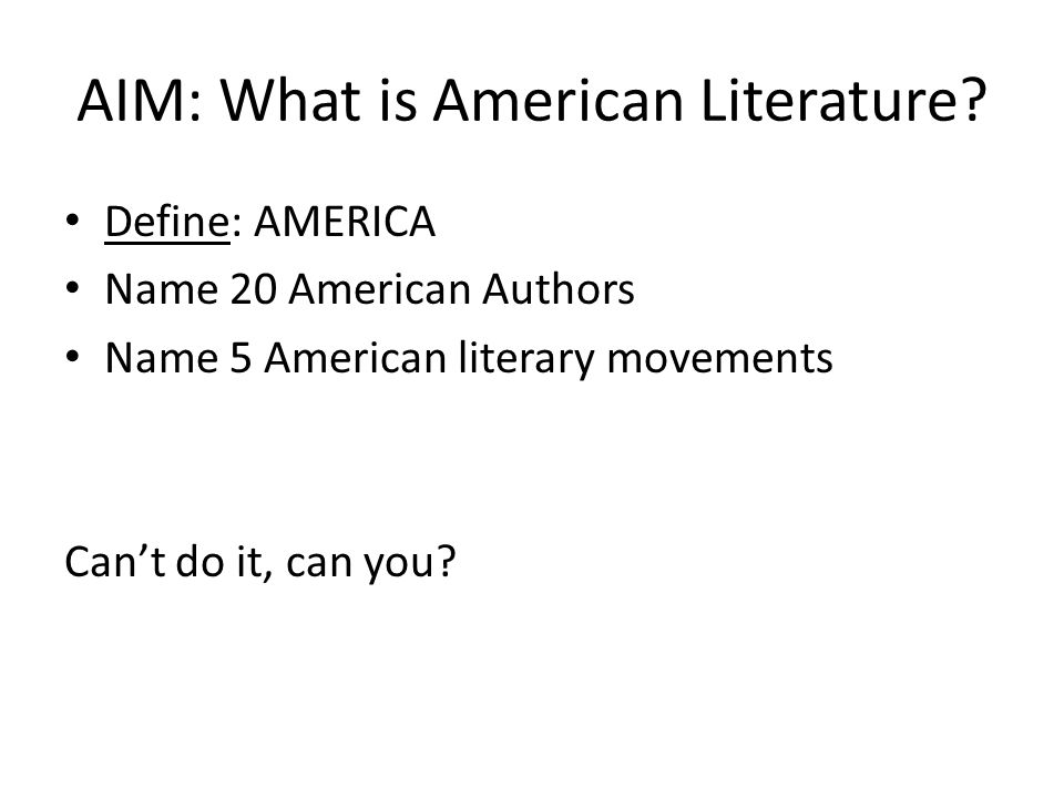 what is american about american literature