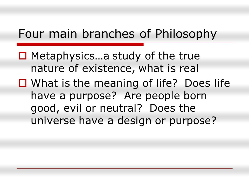 an analysis of the meaning of life in philosophy of the world Why we cannot talk about the meaning of life is that there is no such thing as life   wittgenstein remarks24 how on earth could everything that falls under the   or, if you prefer, the delusion of philosophy, which as freud mischievously.