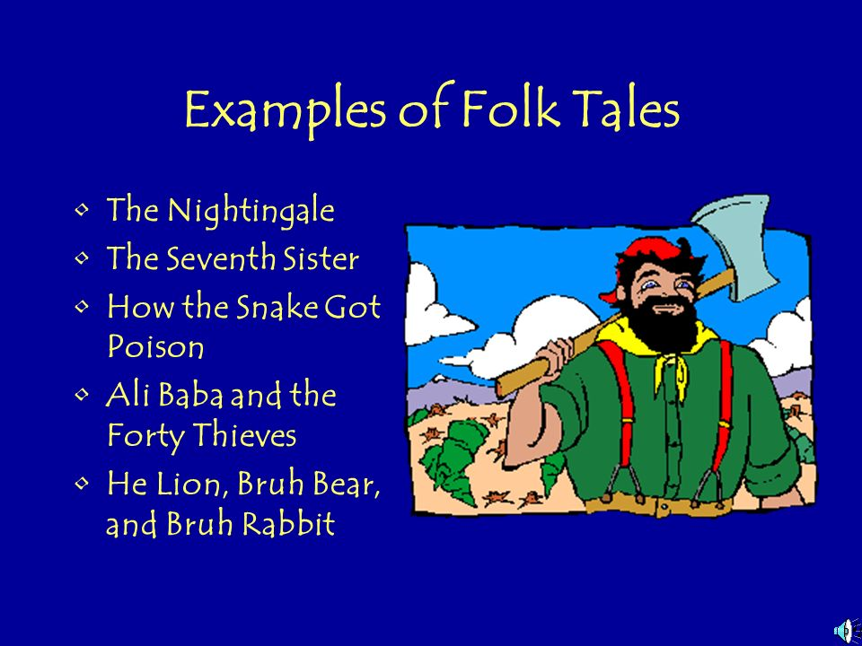 Lesson Plan: Learn About the Characteristics of a Tall Tale and Write Your Own